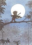 Prentbriefkaarten 10 ex., Bodo en zijn viool